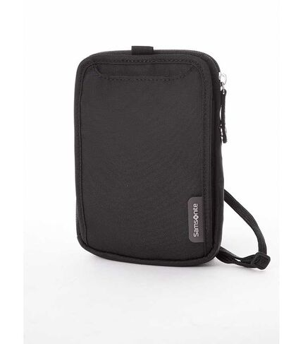 NECK TRAVEL WALLET BLACK main | Samsonite