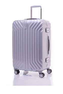 กระเป๋าเดินทางเฟรมล็อค ขนาด 25 นิ้ว รุ่น TRU-FRAME  MATT SILVER view | Samsonite