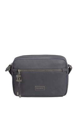 KARISSAPOUCH+SHOULDER M GREY BLUE view | Samsonite