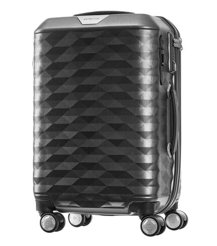 กระเป๋าเดินทาง ระบบเบรคล้อ EASY BRAKE™ SYSTEM ล็อคการเคลื่อนที่ของกระเป๋า รุ่น POLYGON ขนาด 20 นิ้ว DARK GREY main | Samsonite