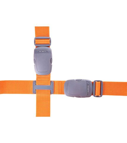 TRAVEL LINK ACC. LUGGAGE CROSS STRAP 2 ORANGE main | Samsonite