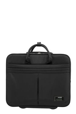 "ROLLING TOTE 16.4"" BLACK view 