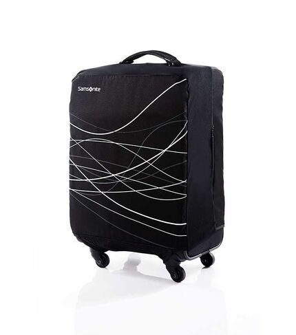 FOLDABLE LUGGAGE COVER S BLACK main | Samsonite