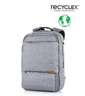 กระเป๋าเป้สะพายหลัง รุ่น MARCUS ECO LP BACKPACK VZ HEATHER GREY main | Samsonite