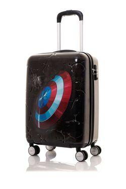 กระเป๋าเดินทาง MARVEL SIGNATURE SPINNER 55/20 TSA CAPT AMERICA view | Samsonite