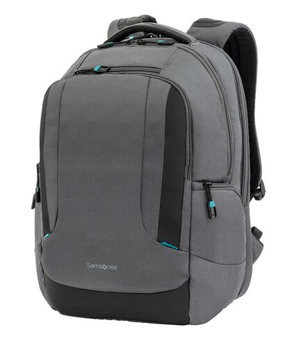 LOCUS LP BACKPACK N1 GREY/TEAL main | Samsonite