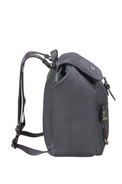 กระเป๋าเป้าสะพายหลังทรงขนมจีบ KARISSA RIVETS GREY BLUE view | Samsonite