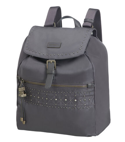KARISSA BACKPACK 1 POCKET ST RIVETS GREY BLUE main | Samsonite