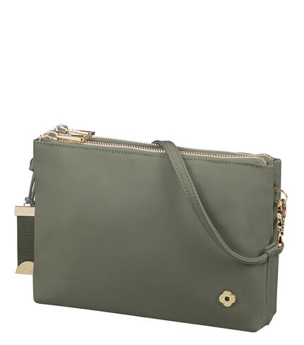SKYLER CROSSOVER M OLIVE GREEN main | Samsonite