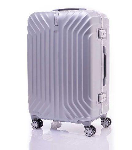กระเป๋าเดินทางเฟรมล็อค ขนาด 25 นิ้ว รุ่น TRU-FRAME  MATT SILVER main | Samsonite
