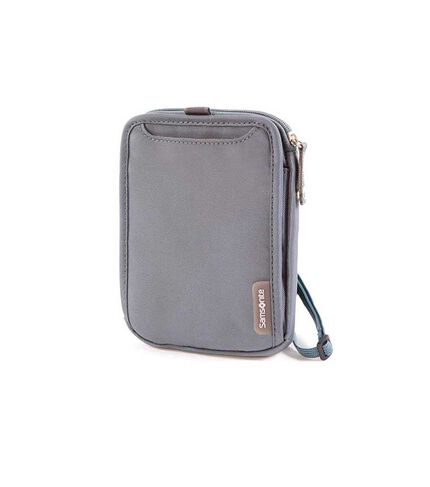 NECK TRAVEL WALLET GREY main | Samsonite
