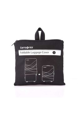 TRAVEL LINK ACC. FOLDABLE LUGGAGE COVER S BLACK view | Samsonite