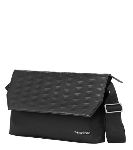 POLYGON CROSSOVER BLACK BLACK main | Samsonite