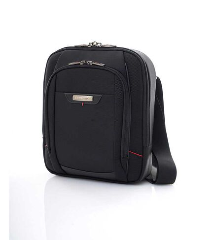 VERT. SHOULDER BAG ASIA BLACK main | Samsonite