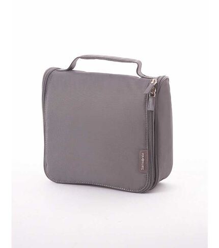 TRAVEL LINK ACC. HANGING TOILETRY KIT GREY main | Samsonite