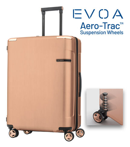 EVOA SPINNER 69/25 EXP ROSE GOLD main | Samsonite