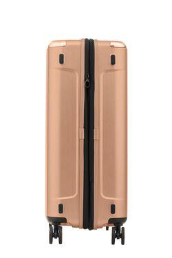 กระเป๋าเดินทางนวัตกรรมล้อแบบใหม่ Aero-Trac™ ล้อกันสะเทือน ลดการสั่นสะเทือน รุ่น EVOA ขนาด 25 นิ้ว ROSE GOLD view | Samsonite