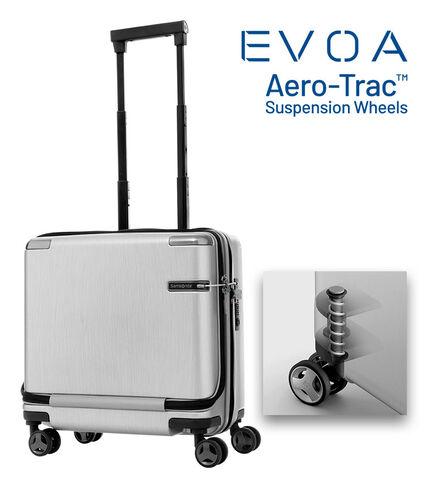 กระเป๋าเดินทางนวัตกรรมล้อแบบใหม่ Aero-Trac™ ล้อกันสะเทือน ลดการสั่นสะเทือน รุ่น EVOA ROLLING TOTE BRUSHED SILVER main | Samsonite