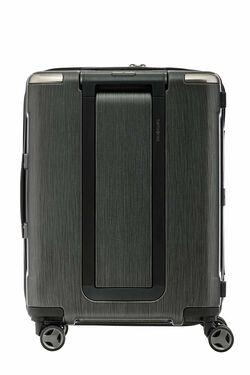 กระเป๋าเดินทางนวัตกรรมล้อแบบใหม่ Aero-Trac™ ล้อกันสะเทือน ลดการสั่นสะเทือน รุ่น EVOA ขนาด 20 นิ้ว BRUSHED BLACK view | Samsonite