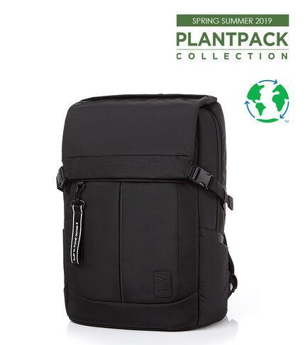 PLANTPACK 2 Flap BACKPACK BLACK