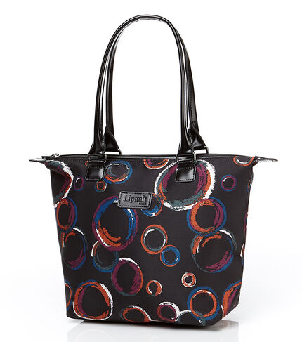 BUBBLE PLUME  TOTE BAG M