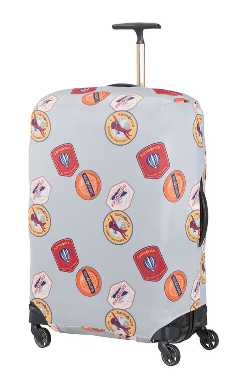 TRAVEL ESSENTIALS LYCRA LUGGAGE COVER L  hi-res | Samsonite