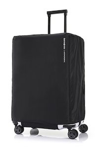TRAVEL ESSENTIALS FOLDABLE LUGGAGE COVER M ANTIMICROBIAL  size | Samsonite